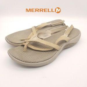 Merrell Savannah Tan Strappy Sandal Sz 11